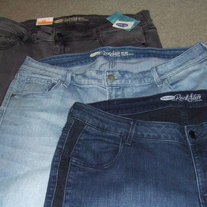 Rockstar pants gray blue 18 Reg 20 W 29 INSM LOT 3
